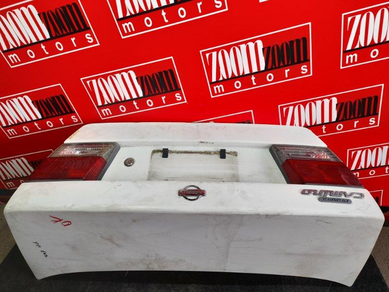 Крышка багажника Nissan Primera HP11 SR20DE 1997 белый