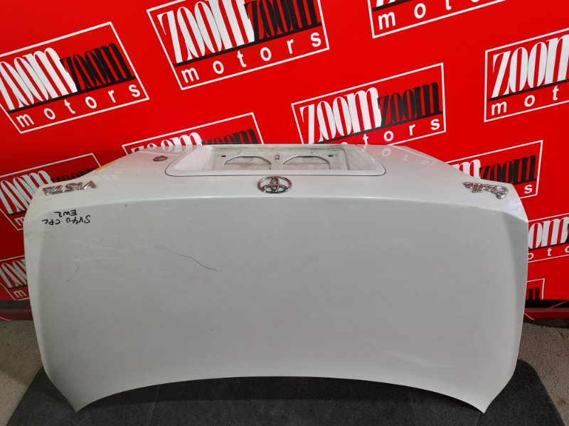 Крышка багажника Toyota Vista SV40 4S-FE 1994 белый перламутр