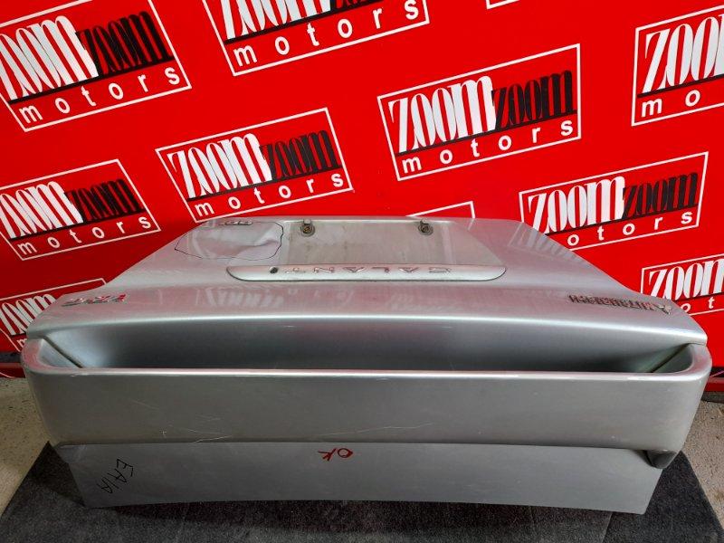 Крышка багажника Mitsubishi Galant EA1A 4G93 1996 серебро
