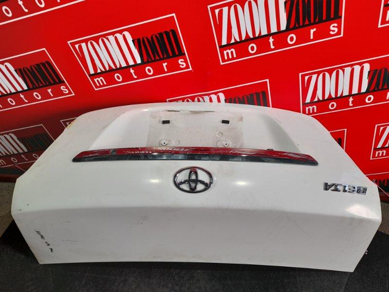 Крышка багажника Toyota Belta SCP92 2SZ-FE 2005 белый