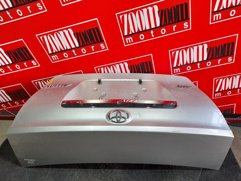Крышка багажника Toyota Allion ZZT240 1ZZ-FE 2001 серебро
