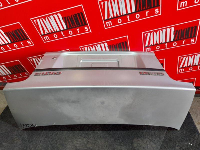 Крышка багажника Suzuki Cultus GC21S G15A 1997 серебро