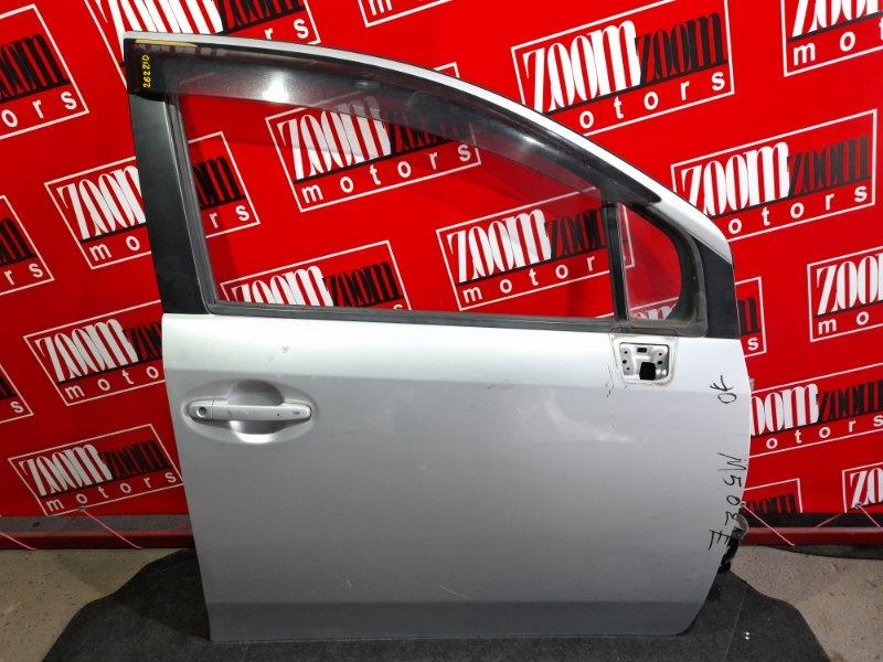 Дверь боковая Toyota Passo Sette M502E 3SZ-VE 2008 передняя правая серебро