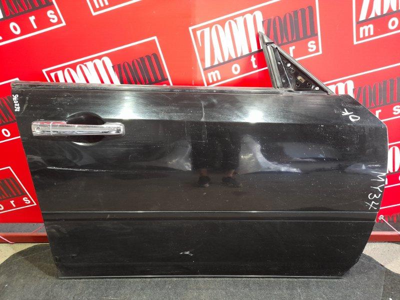 Дверь боковая Nissan Cedric MY34 VQ25DD 1999 передняя правая черный