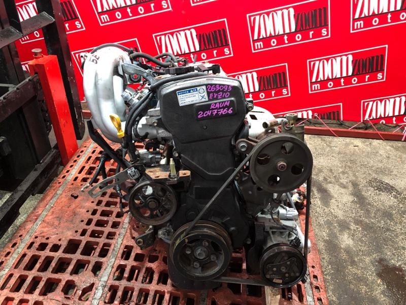 Двигатель Toyota Raum EXZ10 5E-FE 1997
