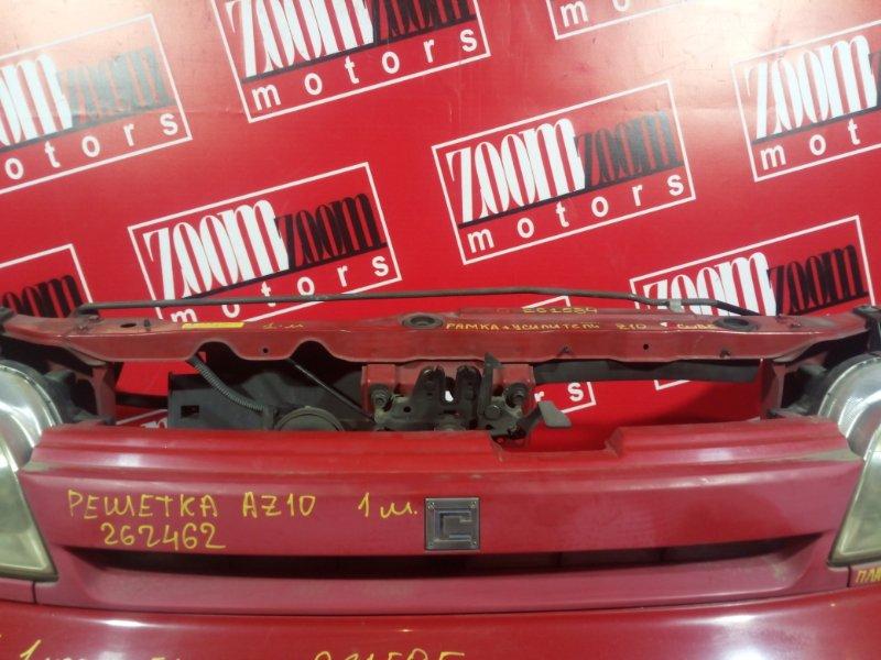 Решетка радиатора Nissan Cube AZ10 CGA3DE 1998 передняя красный