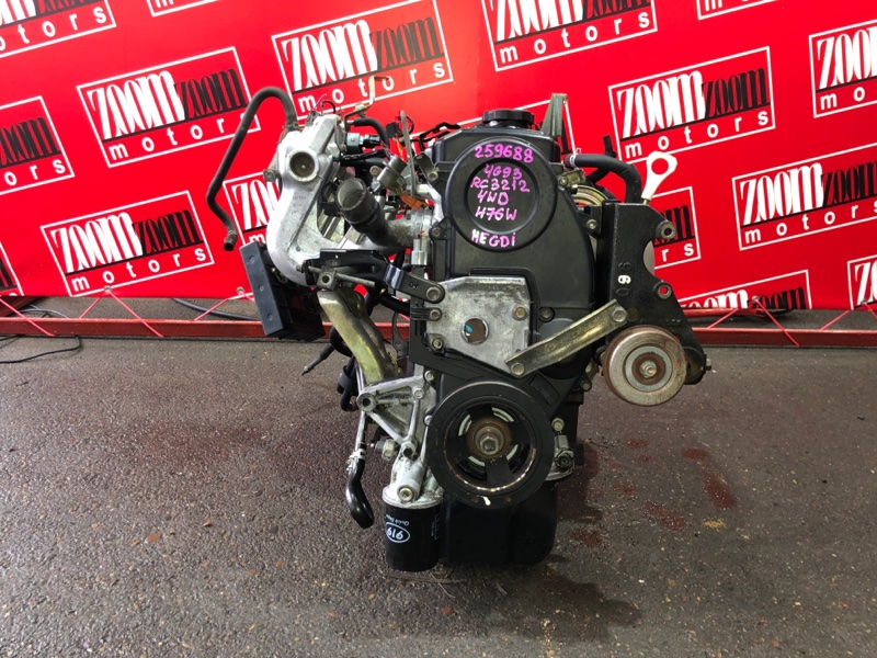 Двигатель Mitsubishi Pajero Io H76W 4G93 1998