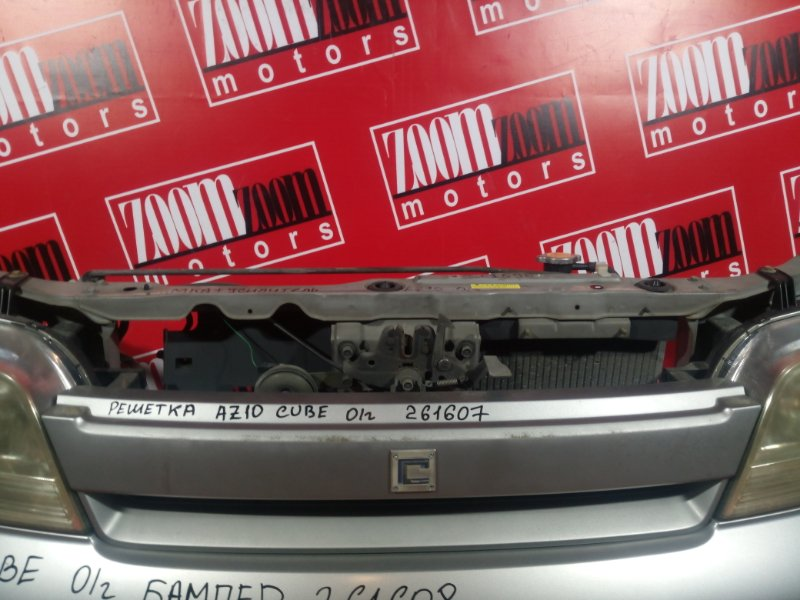 Решетка радиатора Nissan Cube AZ10 CG13DE 2000 серебро
