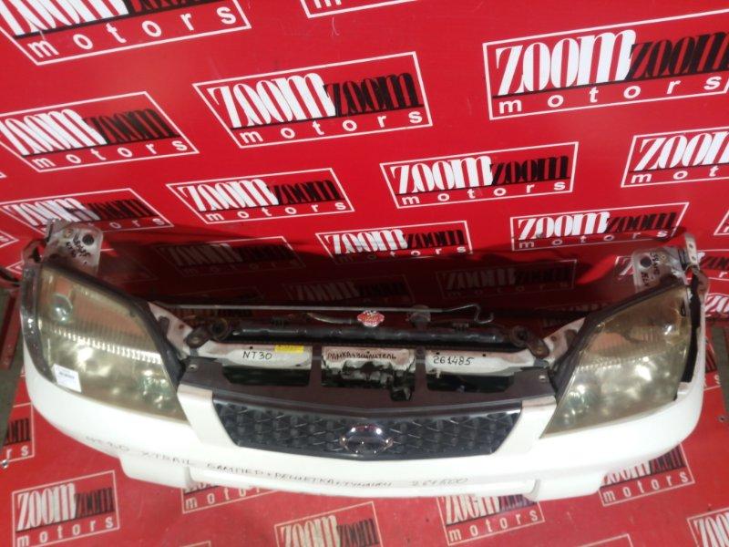 Рамка радиатора Nissan X-Trail NT30 QR20DE 2000 передняя белый