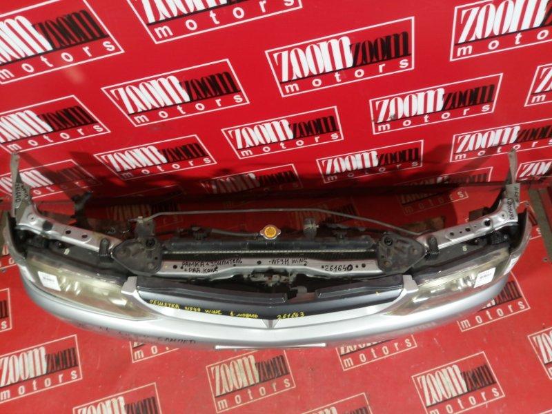 Рамка радиатора Nissan Wingroad WFY11 QG18DE 2000 передняя серый