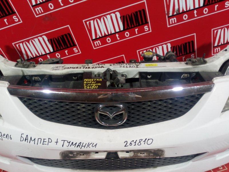 Решетка радиатора Mazda Familia BJ5W ZL-DE 2001