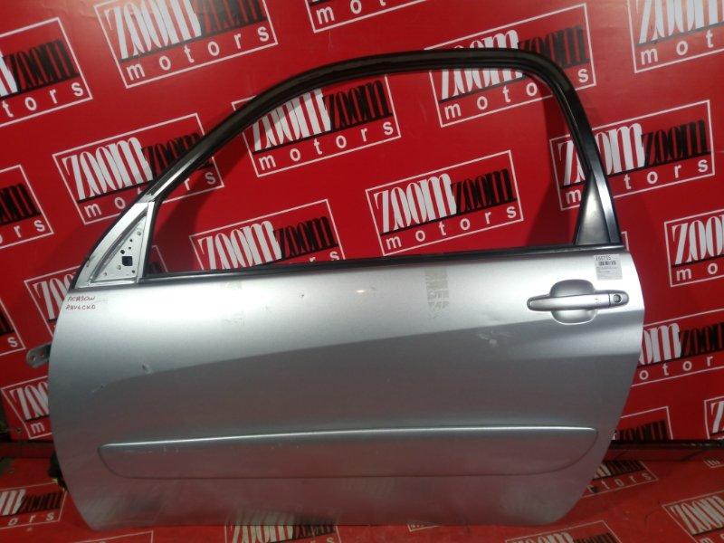 Дверь боковая Toyota Rav4 ACA20 1AZ-FSE 2000 передняя левая серый