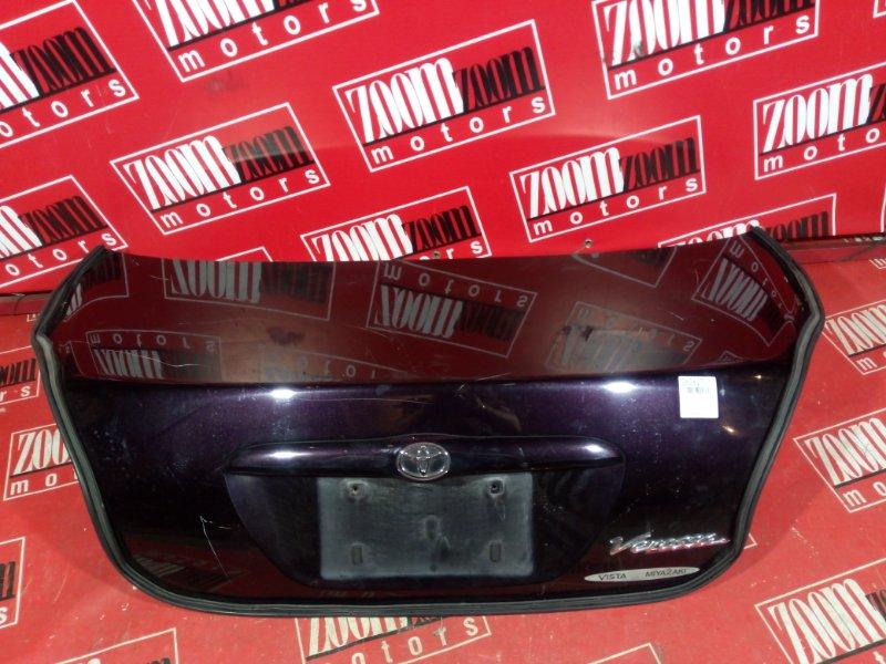 Крышка багажника Toyota Verossa GX110 1G-FE 2001 задняя баклажан