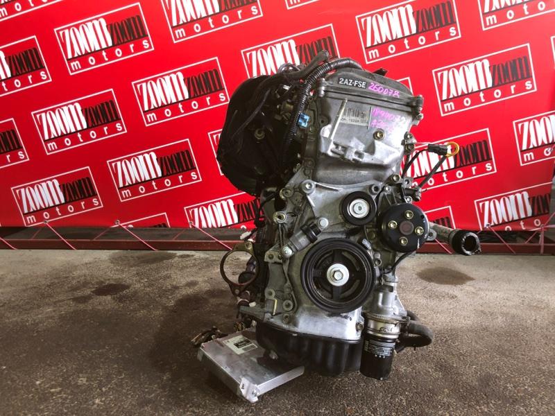 Двигатель Toyota Avensis AZT251 2AZ-FSE 2002