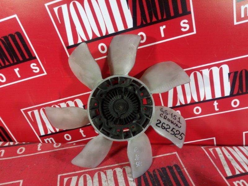 Вискомуфта вентилятора радиатора Toyota Grown GS151 1G-FE 1999