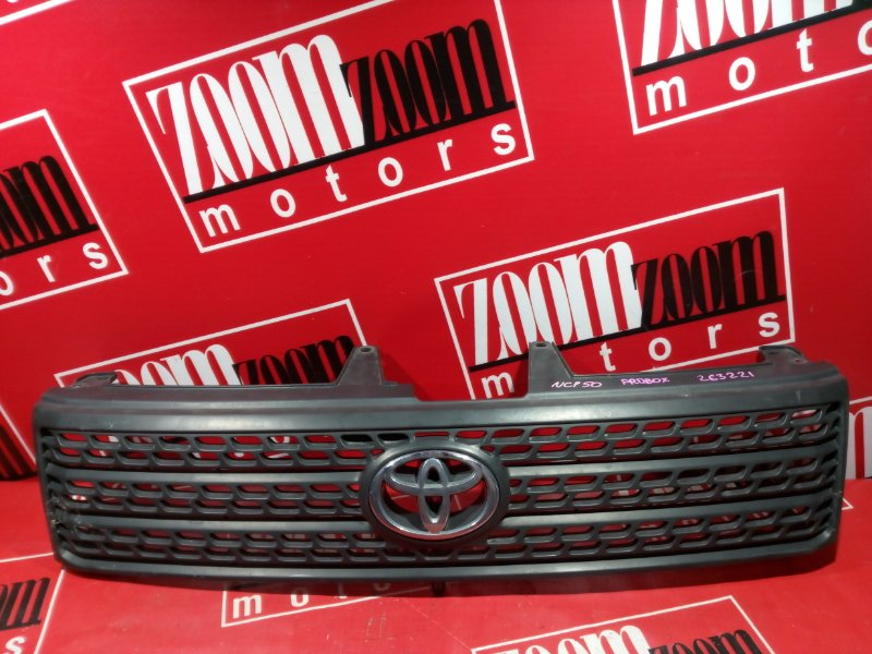 Решетка радиатора Toyota Probox NCP50 1NZ-FE 2002 передняя черный