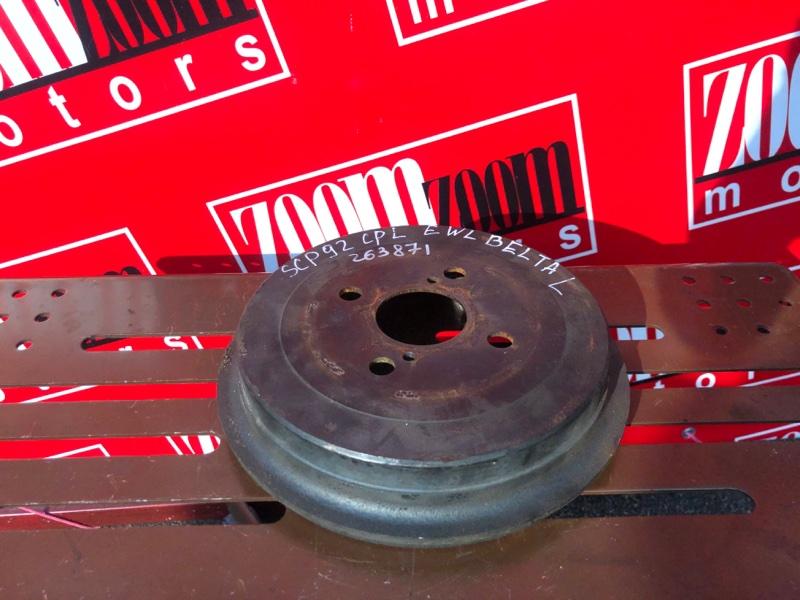 Барабан тормозной Toyota Belta SCP92 2SZ-FE 2005 задний