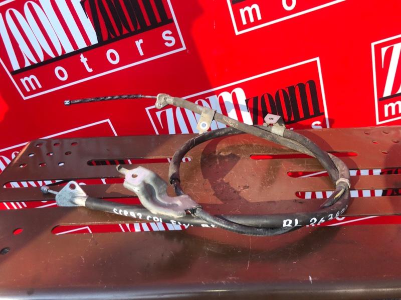 Трос ручника Toyota Belta SCP92 2SZ-FE 2005 задний левый