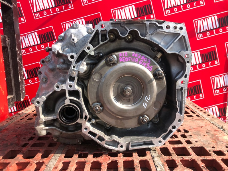 Акпп Nissan Note E12 HR12DDR 2012 RE0F11A GM35