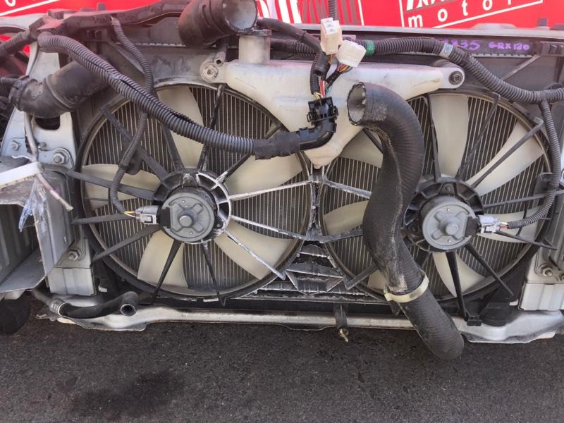 Радиатор двигателя Toyota Mark X GRX120 4GR-FSE 2004