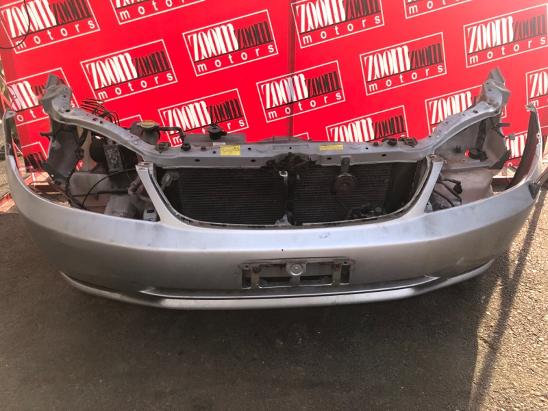 Бампер Toyota Corolla Fielder ZZE122G 1ZZ-FE 2000 передний серебро
