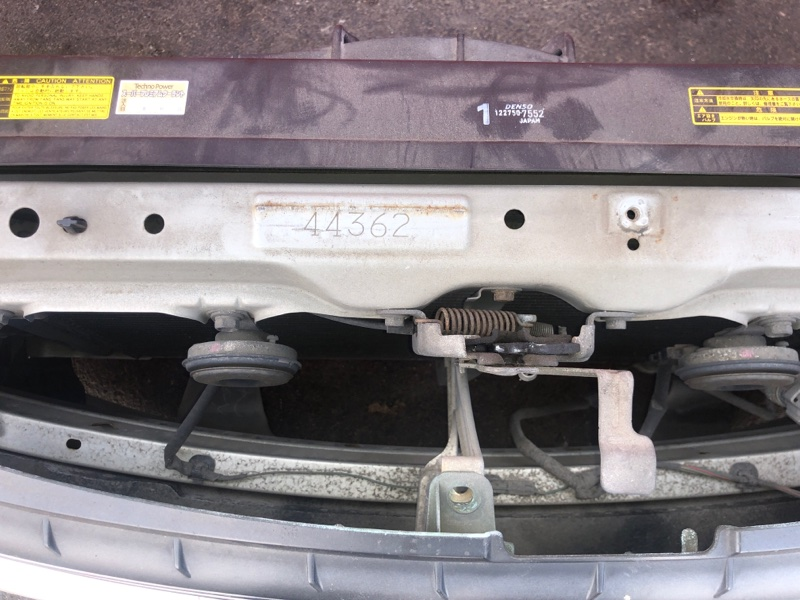 Усилитель бампера Toyota Premio ZZT240 1ZZ-FE `2001 передний