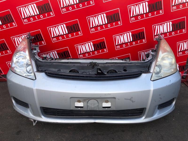 Nose cut Toyota Wish ZNE10 1ZZ-FE 2003 серебро