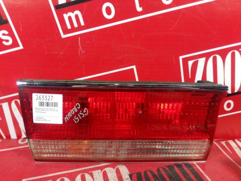 Фонарь (стоп-сигнал) Toyota Crown GS151 1G-FE 1999 задний левый 30-250