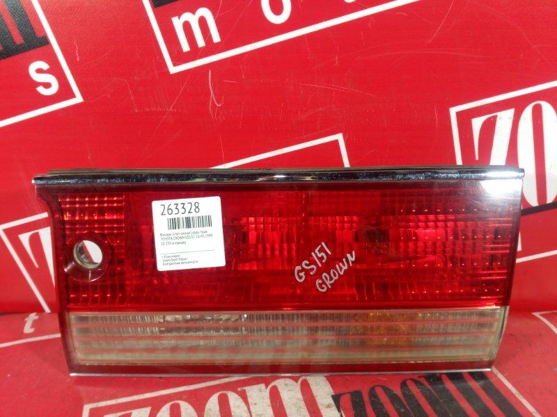 Фонарь (стоп-сигнал) Toyota Crown GS151 1G-FE 1999 задний правый 30-250