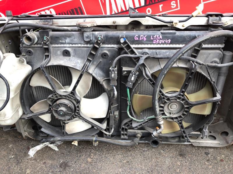 Радиатор двигателя Honda Fit Aria GD6 L13A 2002