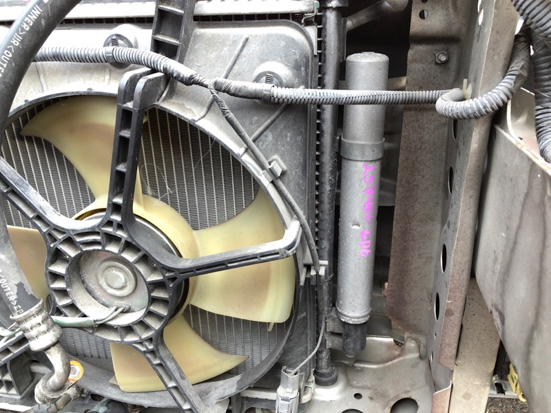 Радиатор кондиционера Honda Fit Aria GD6 L13A 2002