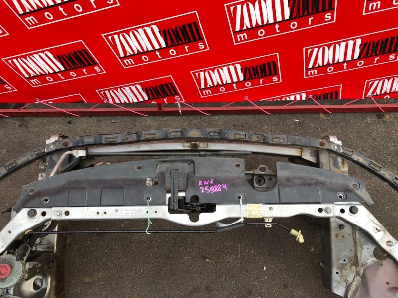 Накладка на решетку радиатора Honda Stream RN1 D17A 2000