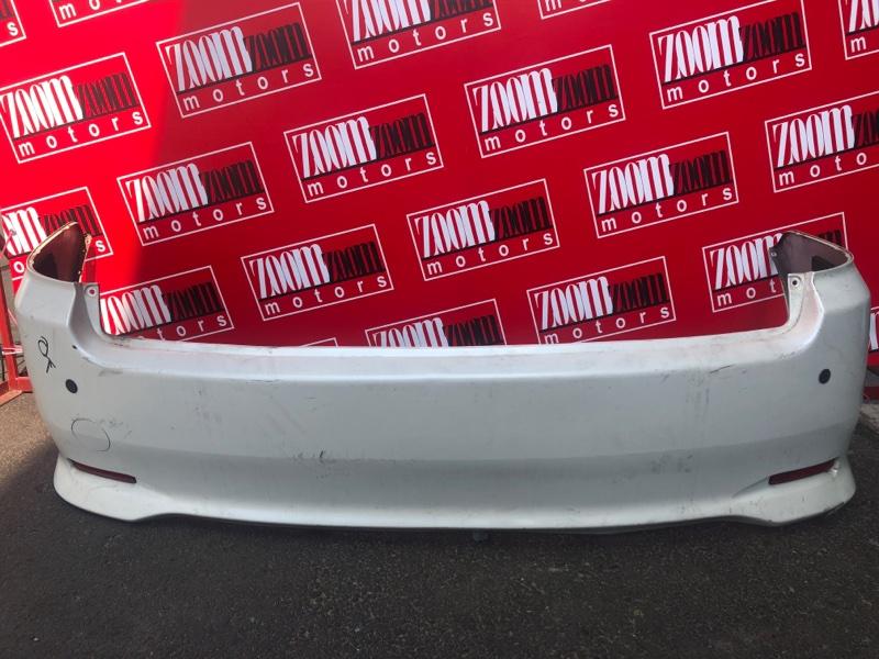 Бампер Toyota Ipsum ACM21 2AZ-FE 2003 задний белый перламутр