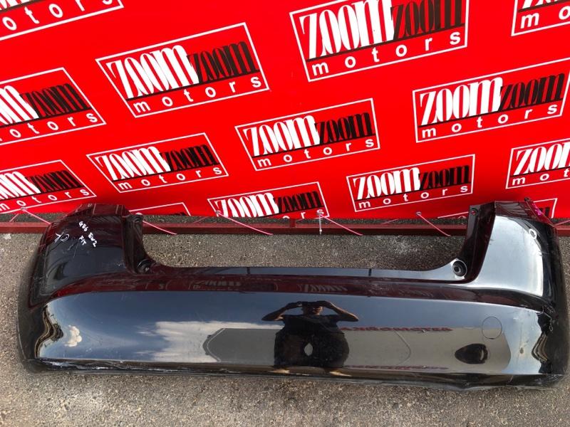 Бампер Honda Fit GE6 L13A 2007 задний черный