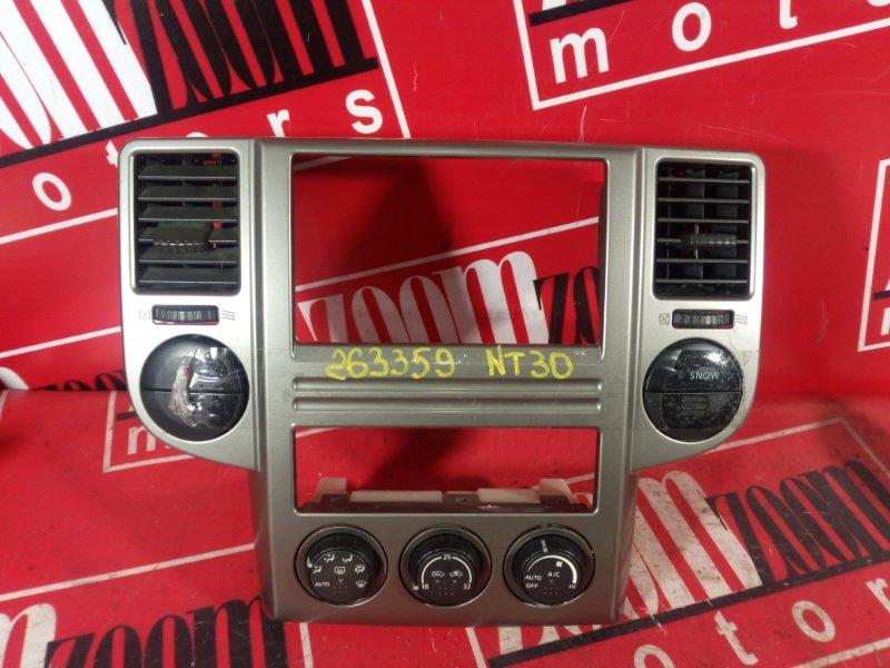 Блок управления отоплением и вентиляцией Nissan X-Trail NT30 QR20DE 2000 49-13