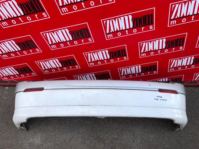 Бампер Toyota Raum EXZ10 5E-FE 1999 задний белый перламутр