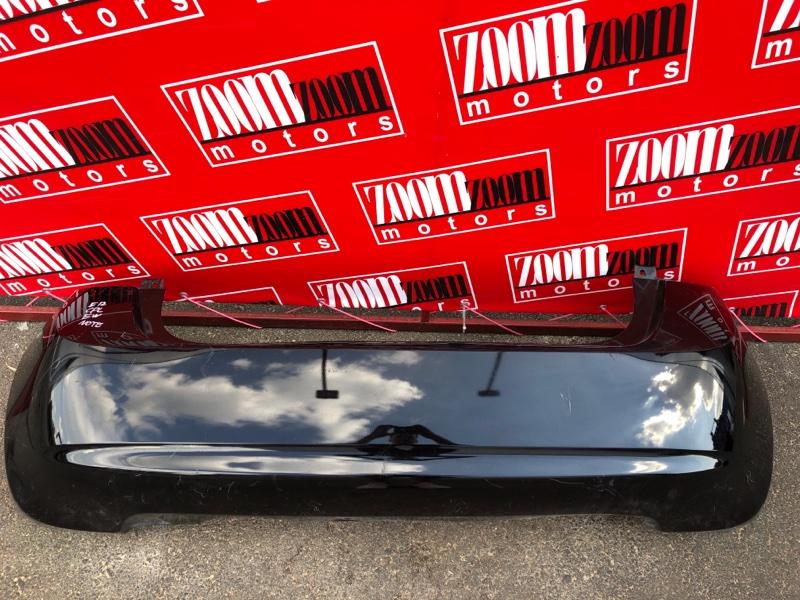 Бампер Nissan Note E12 HR12DDR 2012 задний черный