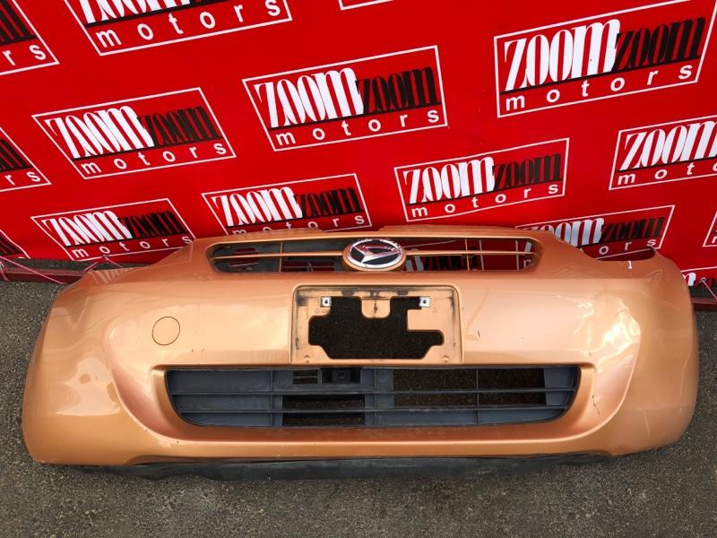 Бампер Toyota Passo KGC30 1KR-FE 2010 передний коричневый