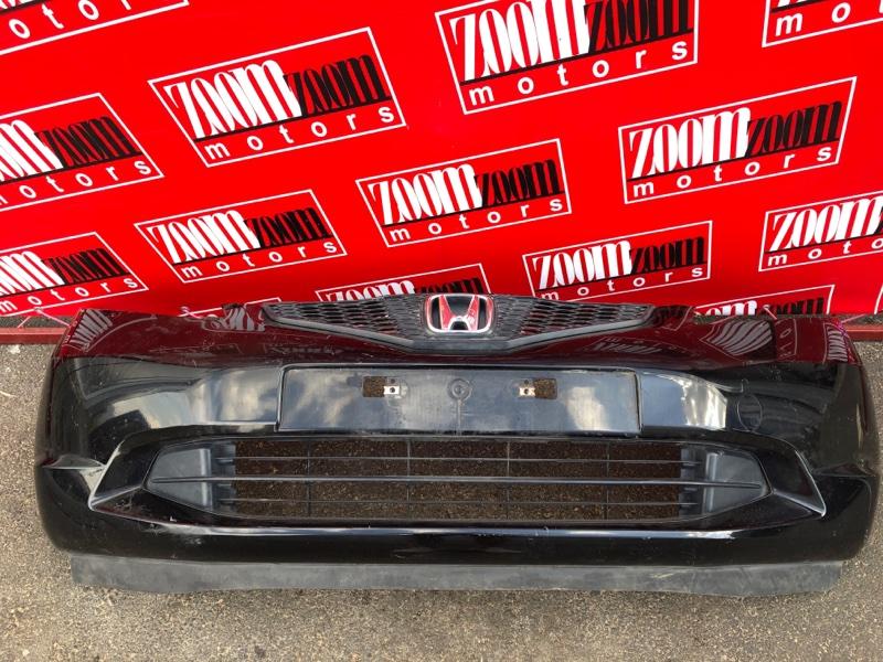 Бампер Honda Fit GE6 L13A 2007 передний черный