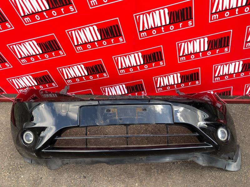 Бампер Nissan Note E12 HR12DDR 2012 передний черный