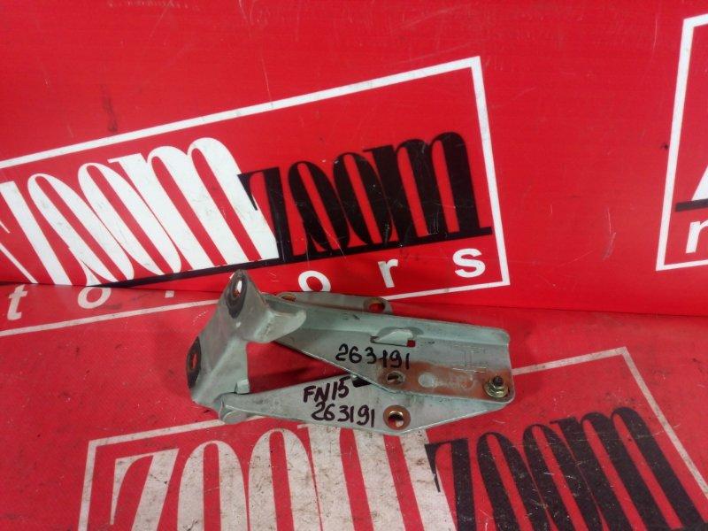 Кронштейн капота Nissan Pulsar FN15 GA15DE 1995 серебро