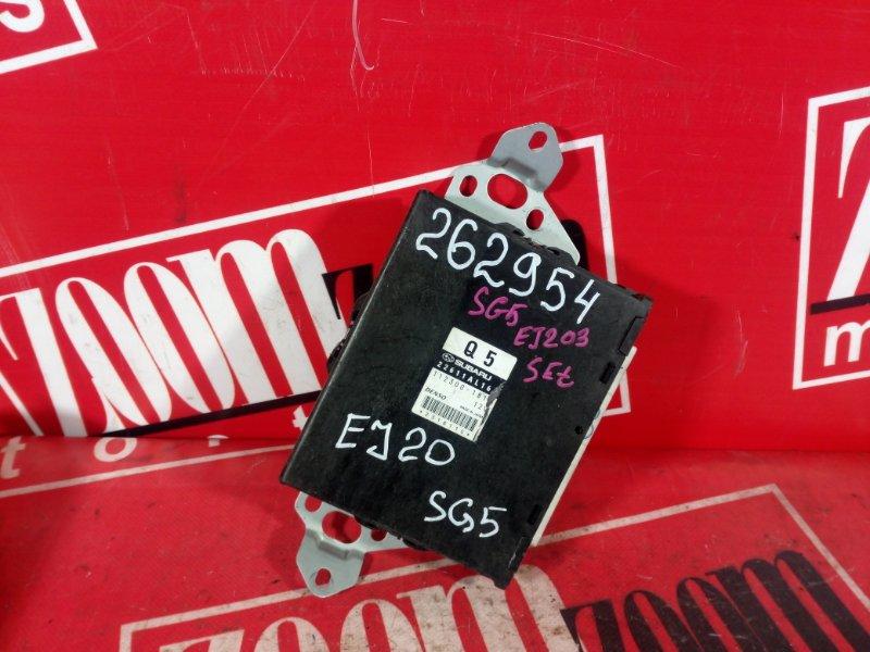 Компьютер (блок управления) Subaru Forester SG5 EJ20 2002 22611AL16 112300-181