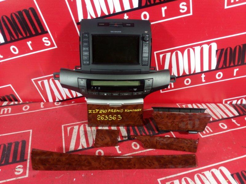 Блок управления отоплением и вентиляцией Toyota Premio ZZT240 1ZZ-FE 2004
