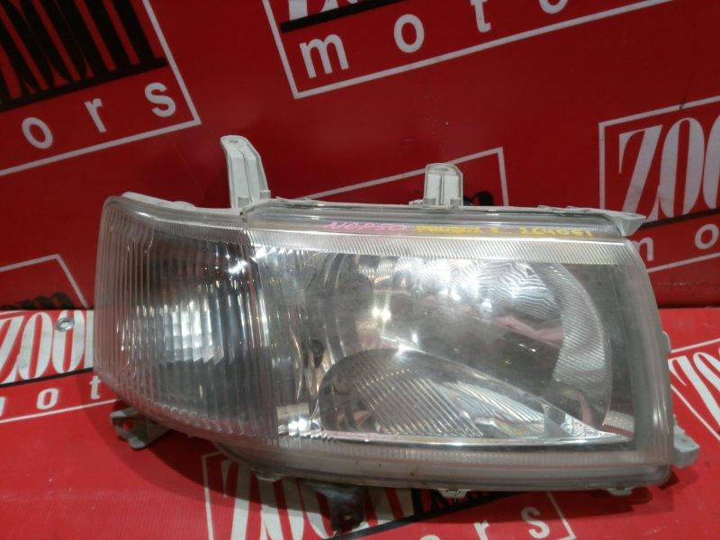 Фара Toyota Probox NCP50 1NZ-FE 2002 передняя правая 52-075