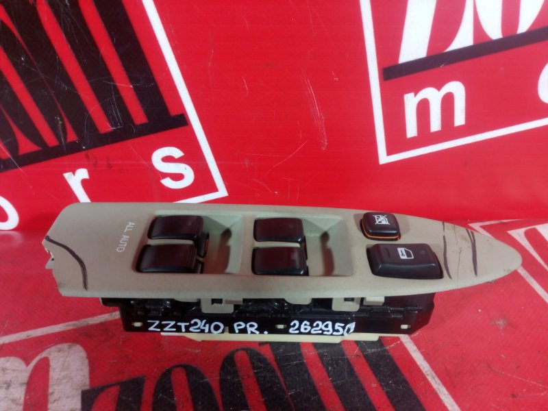 Блок управления стеклоподъемниками Toyota Premio ZZT240 1ZZ-FE `2001 передний правый