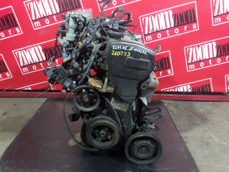 Двигатель Toyota Tercel/corsa EL41 4E-FE 1990 1028287