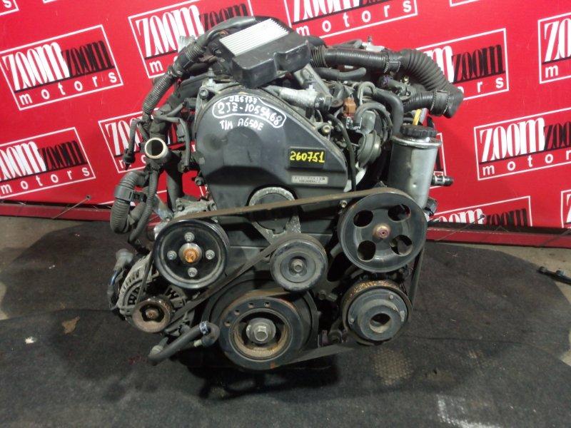 Двигатель Toyota Crown Majesta JZS177 2JZ-FSE 1999
