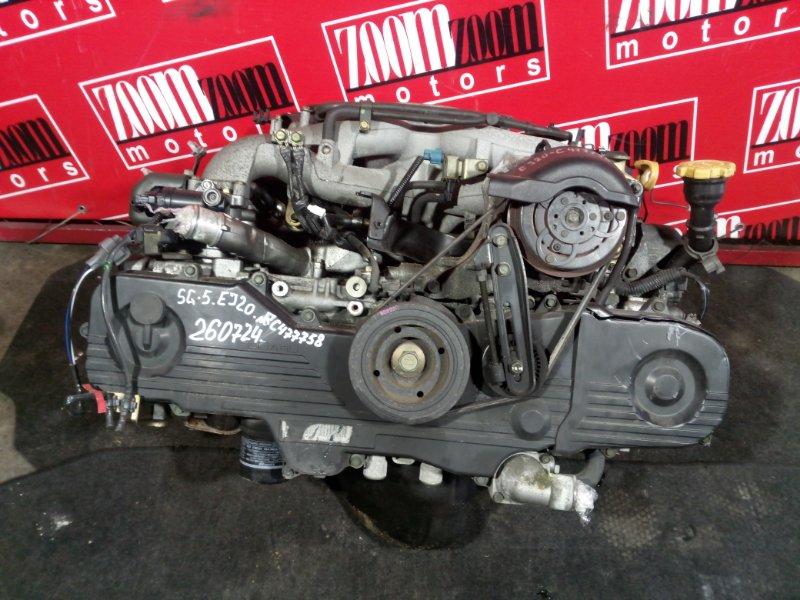 Двигатель Subaru Forester SG5 EJ20 2002 C77758