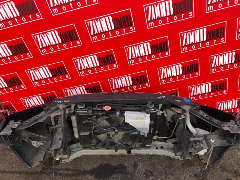 Рамка радиатора Nissan Tiida SC11 HR15DE 2004 черный