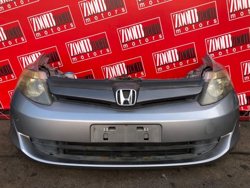 Бампер Honda Airwave GJ1 L15A 2005 передний серый